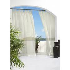 Outdoor Mesh Curtains with Solaris 108 In L White Mesh Outdoor Sheer Curtain Great Way To