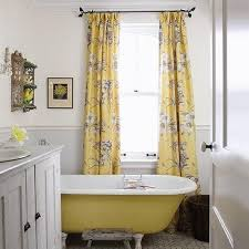 gray and yellow curtains design ideas