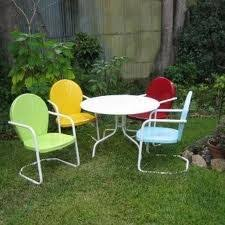 34 best vintage metal porch chairs images on pinterest metal
