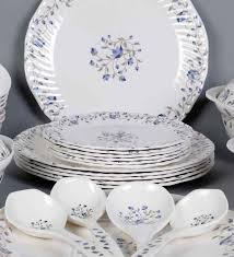 buy machi miracle flower melamine dinner set set of 35