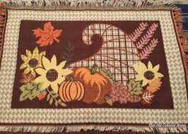 no sew placemat pillow craft idea for thanksgiving hometalk
