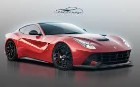 Ferrari F12 White - oakley design ferrari f12 berlinetta adds carbon fiber aggressive