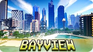 Modern City Minecraft Bayview Heights Massive Modern City With Download