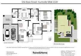 Floor Plans By Address by 136 Dora Street Hurstville Nsw 2220 Ray Fadel