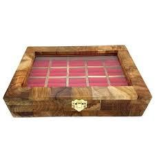 box cincin jogja craft box kotak cincin batu akik kayu jati mozaik isi 20