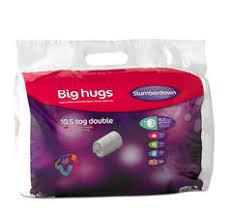 Slumberdown All Seasons Duvet King Size Slumberdown Big Hugs Duvet 10 5 Tog Duvets U0026 Pillows George