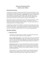 salon business plan thebridgesummit co