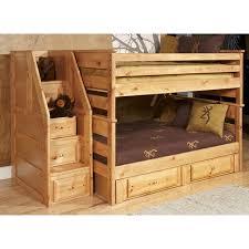 bunk loft beds wayfair full over bed with storage loversiq