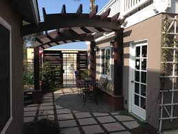 Arched Trellis Residential U2013 Hardscape And Trellis Designs San Diego Architects