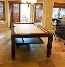 convertible hollywood pool tables dining room pool tables by