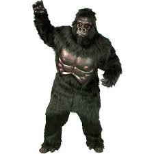Gorilla Halloween Costumes Super Deluxe Gorilla Mascot Costume Starcostumes