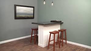 hauteur de bar cuisine charmant hauteur de bar cuisine 4 comment construire un bar de