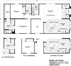 catalina manufactured home series floor plans by mh factory homes