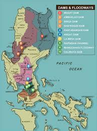 Luzon Map Dams Affecting Marikina River U2013 Inside Marikina