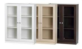 Small Bookcases With Glass Doors Small Bookcase With Doors Cwemi Images Gallery Bookcase With Door