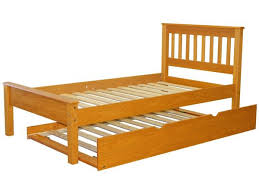 King Bed With Trundle Twin Mission Bed Honey Twin Trundle 296 Bunk Bed King