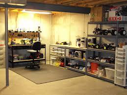 simple basement workshop designs home decor color trends wonderful