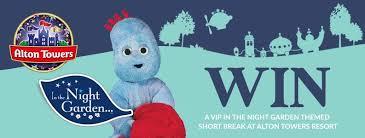 win family vip night garden themed short break alton