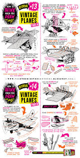how to draw planes flying machines tutorial by studioblinktwice