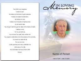 program for a memorial service great funeral service templates word gallery resume ideas