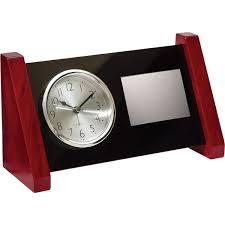 horloge de bureau horloge de bureau en bois de acrylique trophées idéal