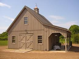barn design like the classic lookgarage with overhang and loft