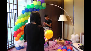 how to make a balloon arch diy balloon arch for ethan birthday party