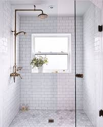 all tile bathroom vibrant bathrooms with white subway tile best 25 shower ideas on