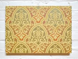 Moorish Design Multi Metallic Moorish Diaper Sidewall Antique Wallpaper Bolling