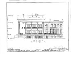 Southwest House Plans Floor Plans Belle Grove Plantation Mansion White Castle Louisiana