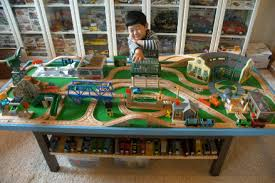thomas the train wooden table cool thomas the train table set up pictures best image engine