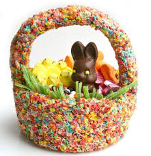 easter baskets how to make edible easter baskets chowhound