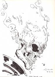 ghost rider by clayton crain in jonathan j u0027s ghost rider comic