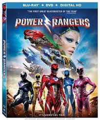 power rangers movie dvd blu ray release special