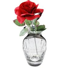 Beautiful Vases Decorating Beautiful Bud Vase With Crystal Flower For Interiors