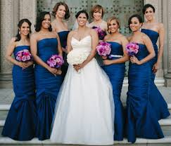 blue bridesmaid dresses bridesmaid dresses for winter weddings inside weddings