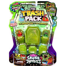 amazon trash pack gross zombies rotten series toys u0026 games