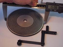 emco unimat 3 watchmaker dividing plate 152mm diameter with 10
