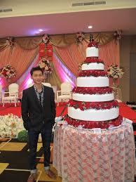 Wedding Cake Tangerang Engagement By The Purple Wedding Cake Bridestory Com