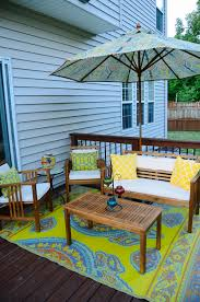 make an exciting zone in your patio with world market outdoor rugs World Market Patio Umbrellas
