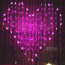 valentines lights yiyang 2 5m novelty butterfly led strings lights curtain wedding