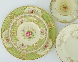 vintage china pattern prairie perch thinking about china