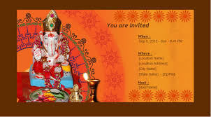 enimantran festivals ganesh chaturthi invitation cards