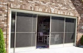 Patio Enclosure Screens Fancy Sliding Garage Screen Doors Door Patio Enclosure