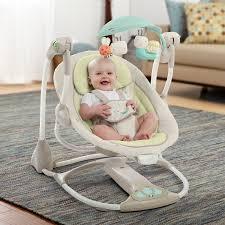 Amazon Baby Swing Chair Amazon Com Ingenuity Convertme Swing 2 Seat Seneca Baby