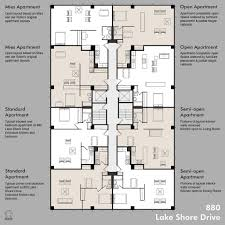 Floor Plan With Plumbing Layout by Apartment Plan Possibilities Flats Façades And Ludwig Mies Van