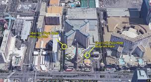The Linq Las Vegas Map by Paris Hotel U0026 Casino Uber Lyft Pickup Dropoff Point Las Vegas