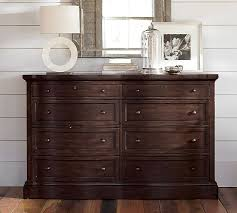 Bedroom Furniture Dresser Banks Wide Dresser Pottery Barn