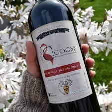 annonce grossesse originale étiquette bouteille de vin chateau