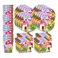 birthday supplies fairy garden birthday party supplies set plates napkins